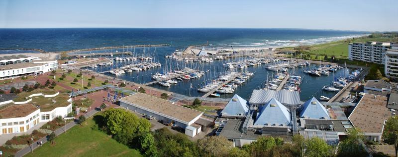 Damp Yachthafen