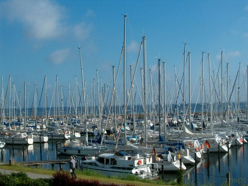 Gelting Mole Yachthafen