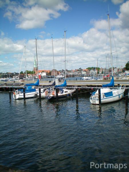 Lübeck-Travemuende Rosenhof Yachthafen