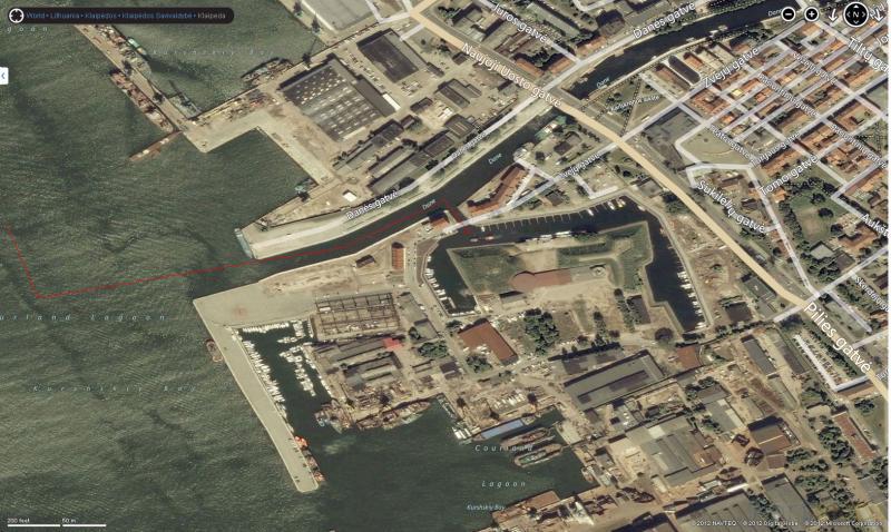 Marina Pictures Klaipeda Old Castle Harbour Portmapscom - Klaipėda map